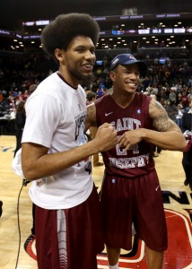 DeAndre Bembry (left) and Chris Wilson (right) are the only returning starters from last season's A-10 champs.