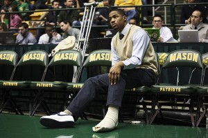GW's Kethan Savage missed the last 15 games of his sophomore season after injuring his foot.