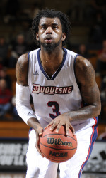 Duquesne's Dominique McCoy missed just seven shots all of last December.