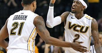 VCU's Treveon Graham and Briante Weber will hope to break the A-10's draftless streak in next year's NBA Draft.