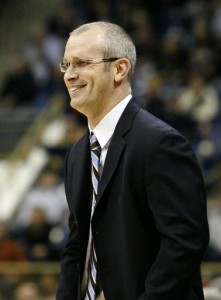 Dan Hurley and his Rhode Island Rams will get a shot at Kansas in