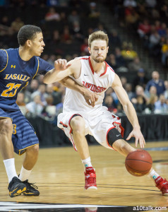 Davidson's Tyler Kilinoski increased his three-point percentage from 29.3% as a freshman to 42.3% as a senior.