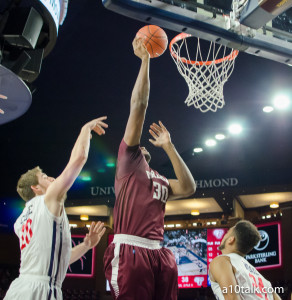Ryan Rhoomes has been dominant as of late for Fordham but will need to be a part of an improved defense to finally take down the Spiders on Thursday.