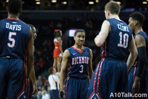 Jones and Cline will hope to lead Richmond back to the top half of the A-10 next season but will have an uphill battle after the graduation of Terry Allen.