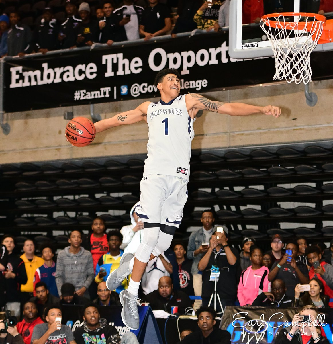 Rhode Island High School Basketball Game